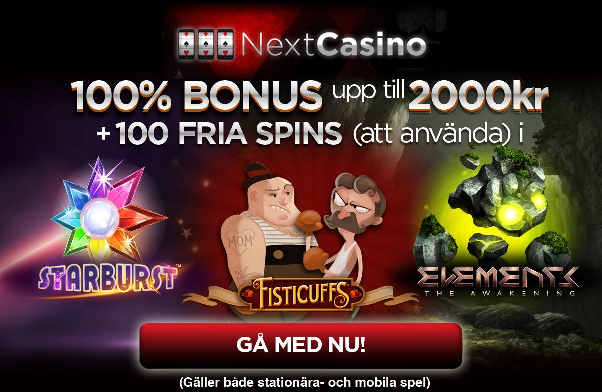 online casino 100 free spins